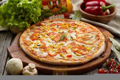 Пицца Вегетарианская от Big Benny. Полный вид