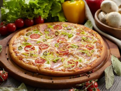 """Пицца """"Жгучая Мексика"""" от Big Benny. Полный вид"""