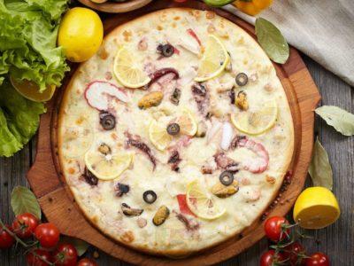 "Пицца ""Дары Моря"" от Big Benny."