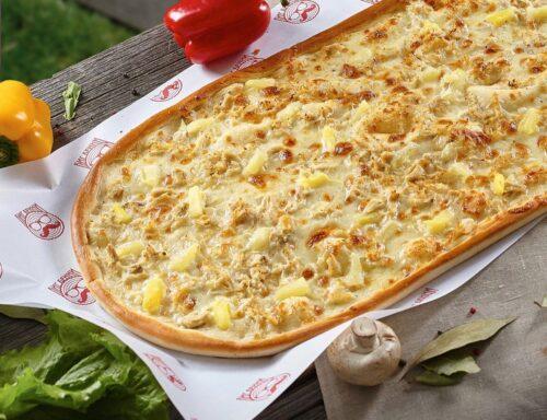 Метровая пицца Гавайская от Big Benny