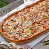 Метровая пицца Барбекю от Big Benny.
