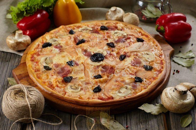 Пицца Ассорти из копченостей от Big Benny.