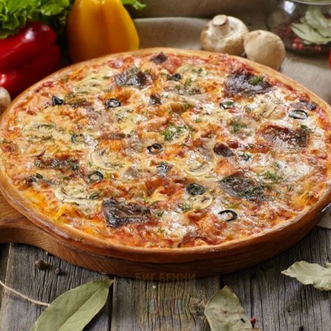 Пицца Деликатесная от Big Benny.
