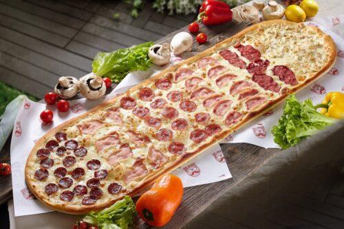 Метров пицца Хит от Биг Бенни