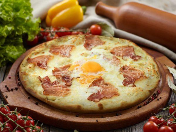 Пицца Карбонара от Big Benny